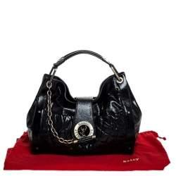 Bally Black Leather Meg T Shoulder Bag