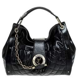 Bally Black Leather Meg T Shoulder Bag