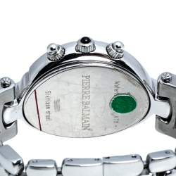 Balmain Mother Of Pearl Stainless Steel Diamond Excessive 5651 Women's Wristwatch 33 mm