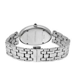 Balmain Silver Stainless Steel Diamonds Ovation Mini Women's Wristwatch 28 mm