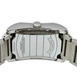 Baume & Mercier Black Stainless Steel Diamond 65694 Hampton Quartz Women's Wristwatch 27 MM