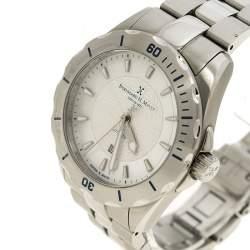 Bernhard H Mayer White Mother of Pearl Stainless Steel Ballad Women's Wristwatch 34 mm