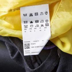 Boss by Hugo Boss Yellow Chiffon Sleeveless Drapira Dress S