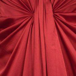 Boss by Hugo Boss Red Sleeveless Draped Doresa Dress S