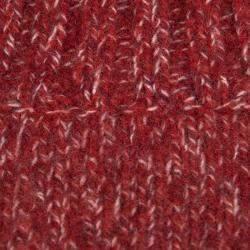 Boss Orange By Hugo Boss Red Chunky Knit Rib Trim Sweater XL