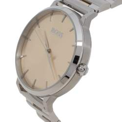 Hugo Boss Yellow Two Tone Stainless Steel Classic HB.369.314.3349 Women's Wristwatch 36 mm
