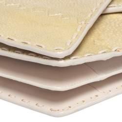 Bottega Veneta Beige Stingray Envelope Clutch