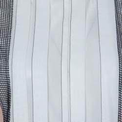 Bottega Veneta White Cotton Panelled Sleeveless Top S
