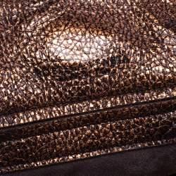 حقيبة هوبو بوتيغا فينيتا جلد ذهبى كوبير ميتالك