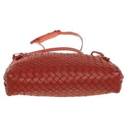 حقيبة كروس بوتيغا فينيتا نوديني جلد أنترشياتو برتقالي