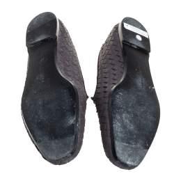 حذاء سليبرز بوتيغا فينيتا سموكينغ جلد إنترشييتو بنفسجى مقاس 40