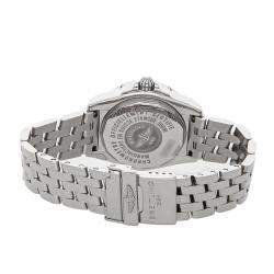 Breitling MOP Diamonds Stainless Steel Galactic A71356L2/A708 Women's Wristwatch 32 MM