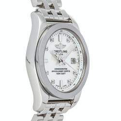 Breitling MOP Diamonds Galactic T W7234812/A785 Women's Wristwatch 29 MM