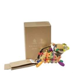 دلاية حقيبة / ميدالية مفاتيح بربري خروف ويندي مرصعة كشمير متعدد الألوان