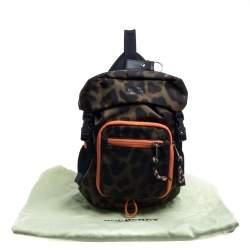 Burberry Green Leopard Print Nylon Leo Belt Bag