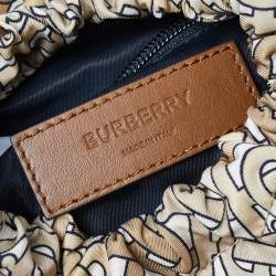 Burberry Beige TB Monogram Nylon Leo Belt Bag