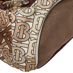 Burberry Beige TB Monogram Nylon Leo Belt Bag