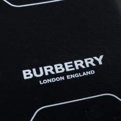 Burberry Black Leather ID Card Holder