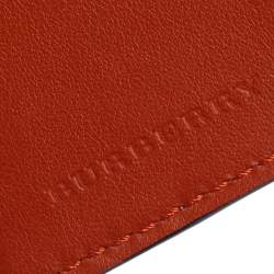 Burberry Multicolor Leather Elwood Passport Holder
