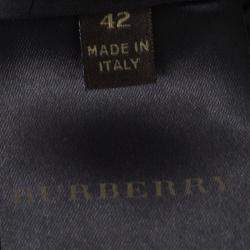 Burberry Beige Metal Embellished Sleeveless Dress M