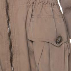 Burberry Beige Detachable Hood Bageford Anorak Jacket M
