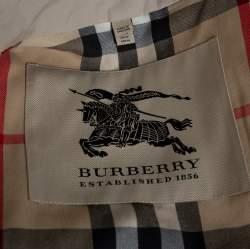 Burberry Stone Trench Coat M