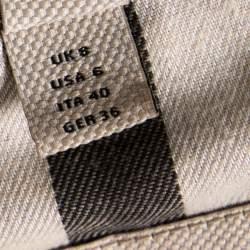 Burberry Black Buckingham Belted Coat S