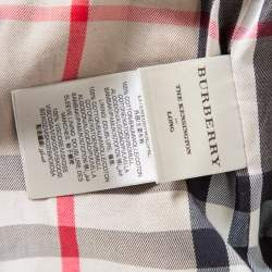 Burberry Beige Cotton Belted The Kensington Trench Coat XS