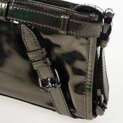 Burberry Metallic Clutch
