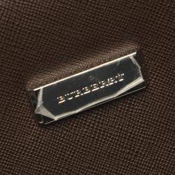 Burberry Brown Leather Vintage Clutch bag