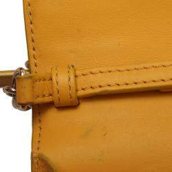 Burberry Multicolor Haymarket check Canvas Henley Wallet on chain bag