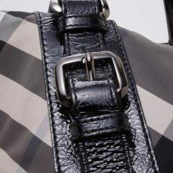 Burberry Lowry Check Tote and Wallet