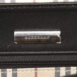 Burberry Black Leather Shoulder Bag