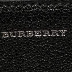Burberry Black Leather Small D-Ring Chain Shoulder Bag