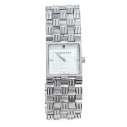 Burberry Silver Stainless Steel BU4735 Women's Wristwatch 22.50 mm