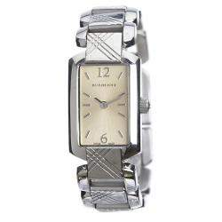 Burberry Silver Stainless Steel Signature BU4212 Women's Wristwatch 18MM