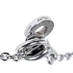 Bvlgari B.Zero1 18K White Gold Bracelet