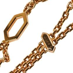 Bvlgari Serpenti Amethyst 18K Rose Gold Station Bracelet