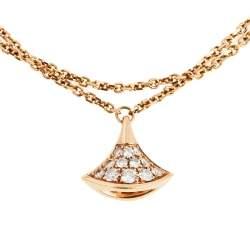 Bvlgari Diva's Dream Diamond 18K Rose Gold Bracelet SM