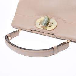 Bvlgari Beige Leather Isabella Rossellini Bag