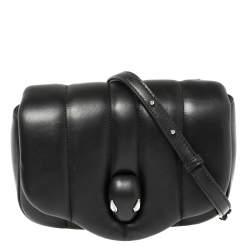 Bvlgari Black Leather Ambush Belt Bag
