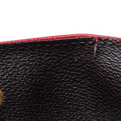 Carolina Herrera Multicolor Monogram Coated Canvas and Leather Front Pocket Tote
