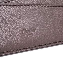 Cartier Red Leather Passport Holder