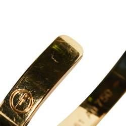 Cartier Love 18K Yellow Gold Cuff Bracelet 16