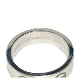 Cartier 18K White Gold Love Ring Size EU 51