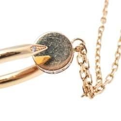 Cartier Juste un Clou Diamond 18K Yellow Gold Pendant Necklace