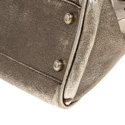 Cartier Gold Leather Small Marcello De Cartier Bag