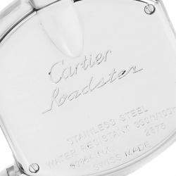 Cartier Pink MOP Stainless Steel Roadster W6206006 Women's Wristwatch 36 x 30 MM