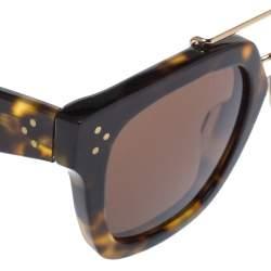 Céline Brown Havana /Brown CL 41077/S Bridge Square Sunglasses