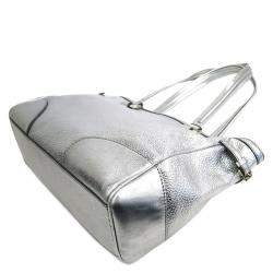Celine Metallic Calfskin Leather Tote